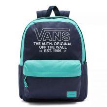 """Vans Old Skool H20 Rugzak 15"""" Dress Blue/ Porcelain Green"""