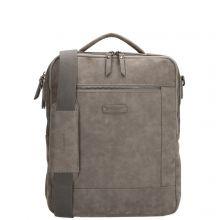 "Enrico Benetti Nikki Backpack With Shoulder Strap 14"" Middengrijs"