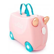 Trunki Ride-On Kinderkoffer Flamingo Flossi
