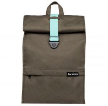"Bold Banana Roll Top Backpack 15.6"" Green Cosmo"