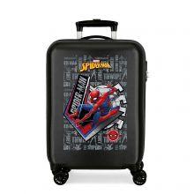 Disney Trolley 55 Cm 4 Wheels Spiderman Great Power Black
