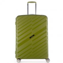 Samsonite S'Cure Deluxe Trolley 55 Metallic Green