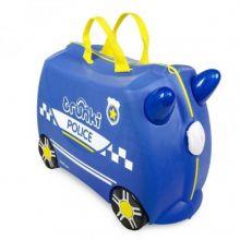 Trunki Ride-On Kinderkoffer Politiewagen Percy