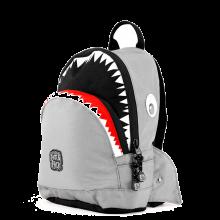 Pick Pack Fun Kinder Rugzak Mono Shark Grey