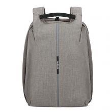 """Samsonite Securipak Travel Laptop Backpack 15.6"""" Cool Grey"""