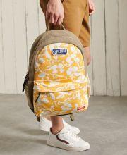 Superdry Montana Vintage Cali Print Backpack Campus Gold