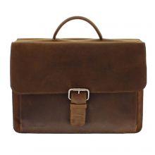 Plevier 553-2 Laptoptas Brown
