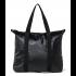 Rains Original Tote Bag Schoudertas Shiny Black