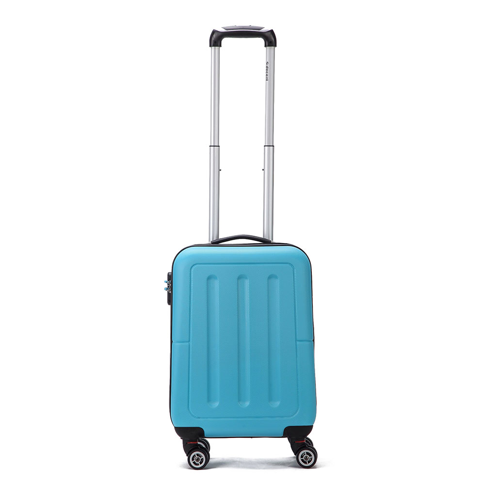 Decent Neon Fix Handbagage Koffer 55 Blue