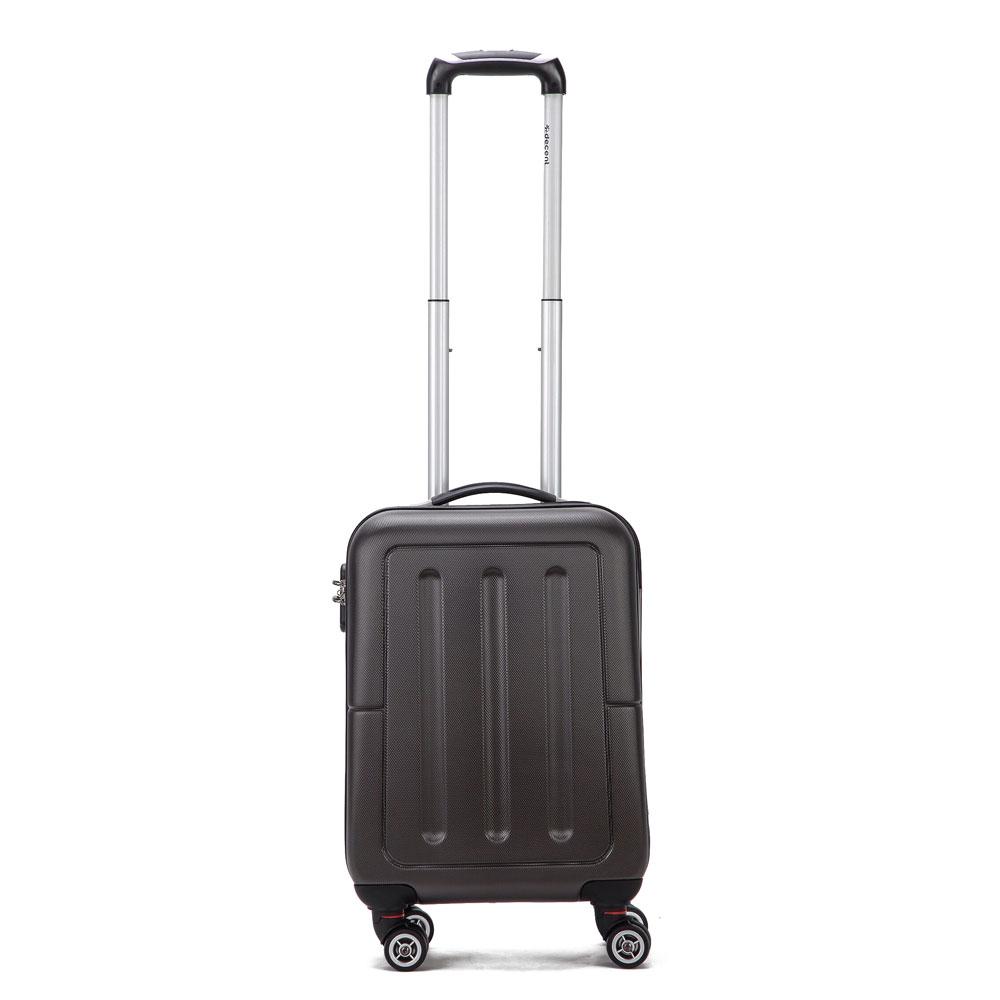 Decent Neon Fix Handbagage Koffer 55 Antraciet
