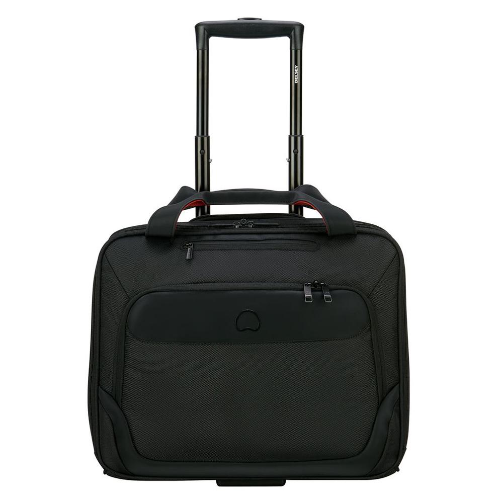Delsey Parvis Plus Boardcase Trolley Cabin 1-CPT 15.6 Black