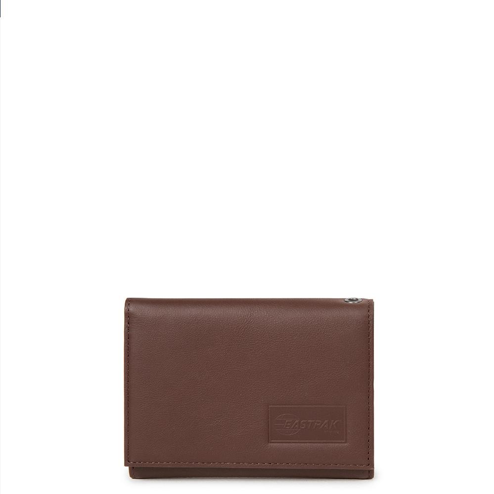 37f9f2834ec Eastpak Crew RFID Portemonnee Chestnut Leather