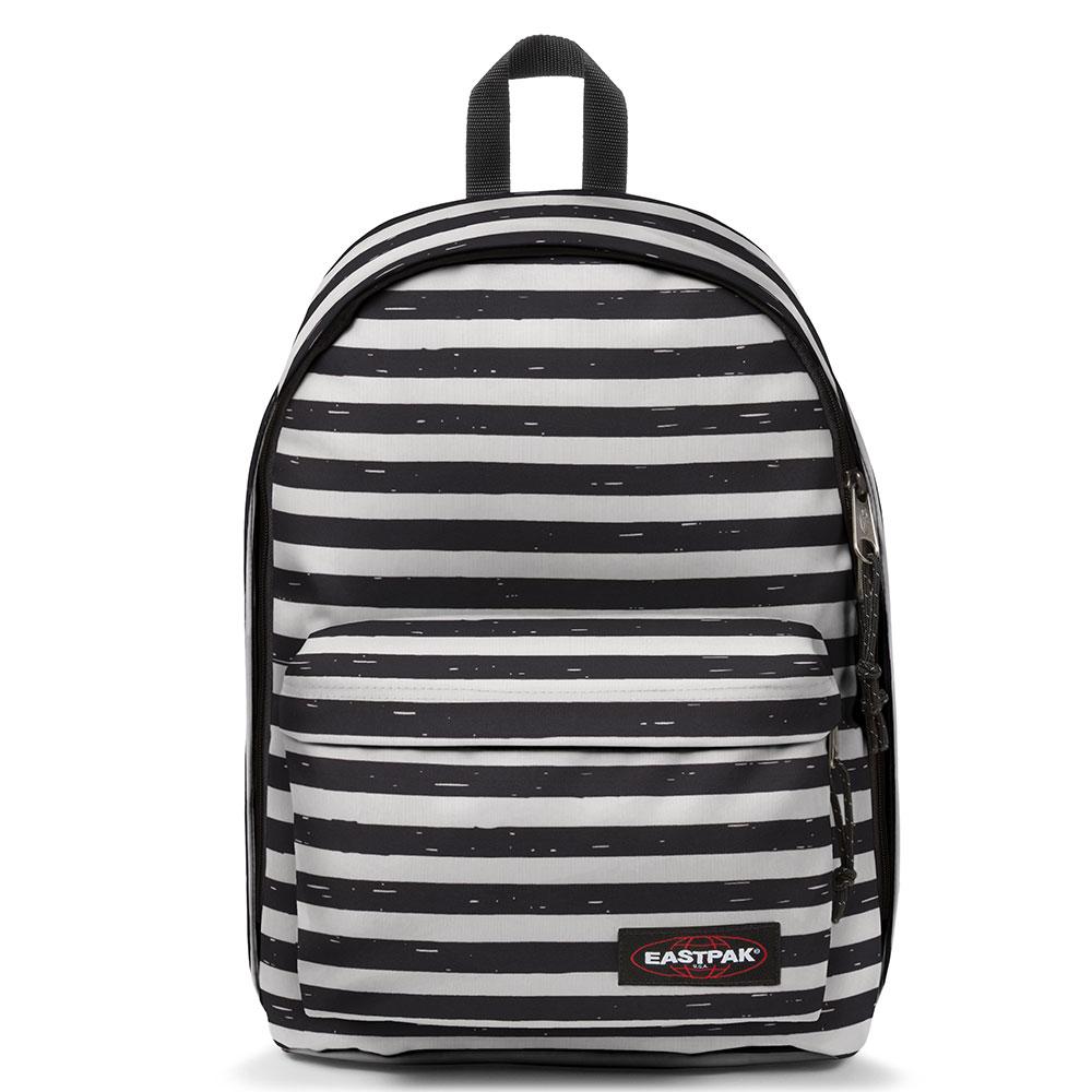 23ec787910b Eastpak Out Of Office Rugzak Stripe-It Black