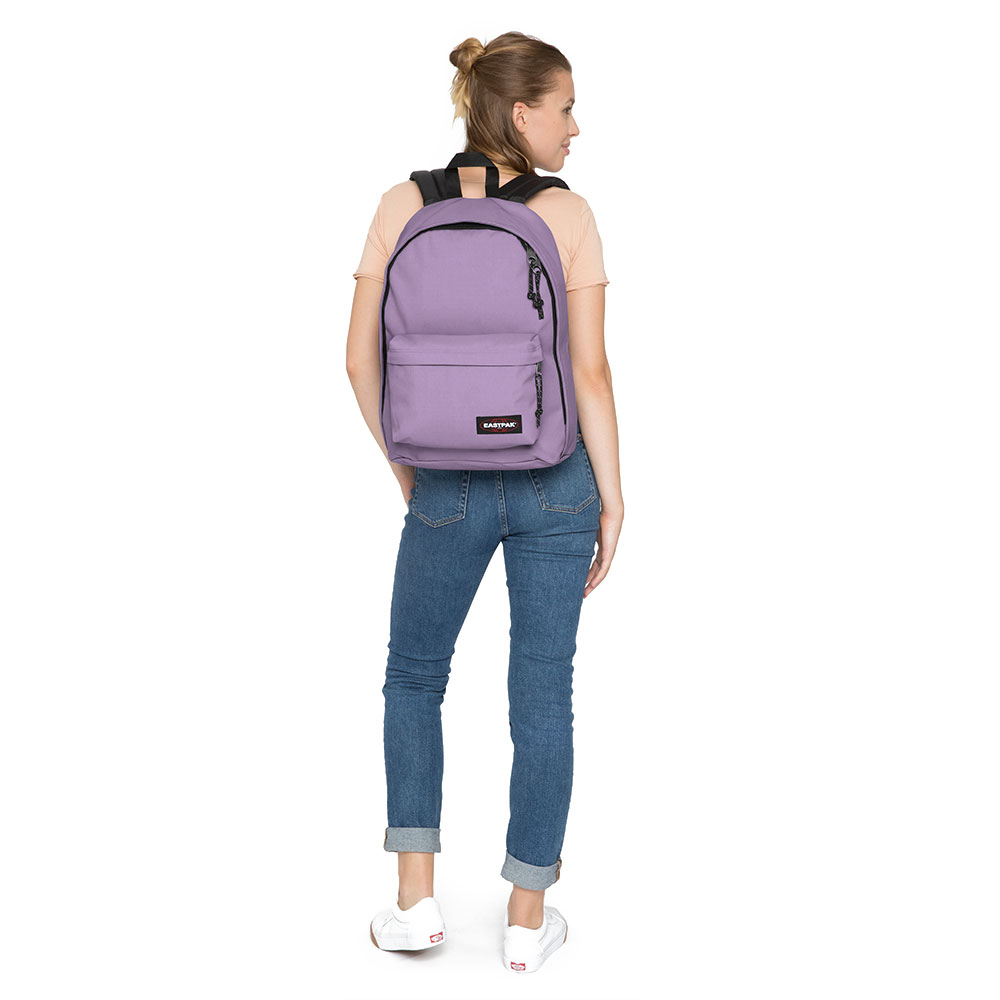 76ff25bb3c9 Eastpak Out Of Office Rugzak Flower Lilac