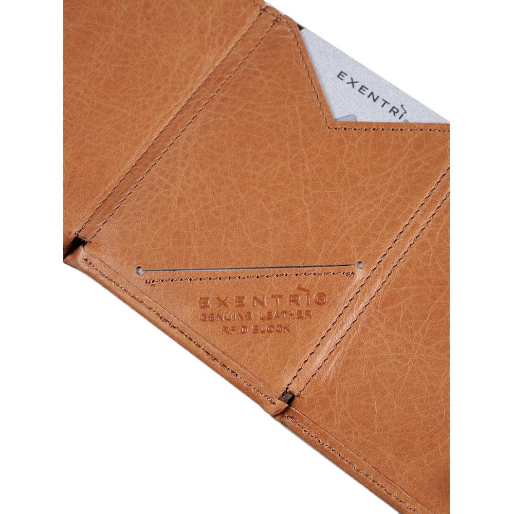 feff460b670 Exentri Wallet met RFID Bescherming Sand