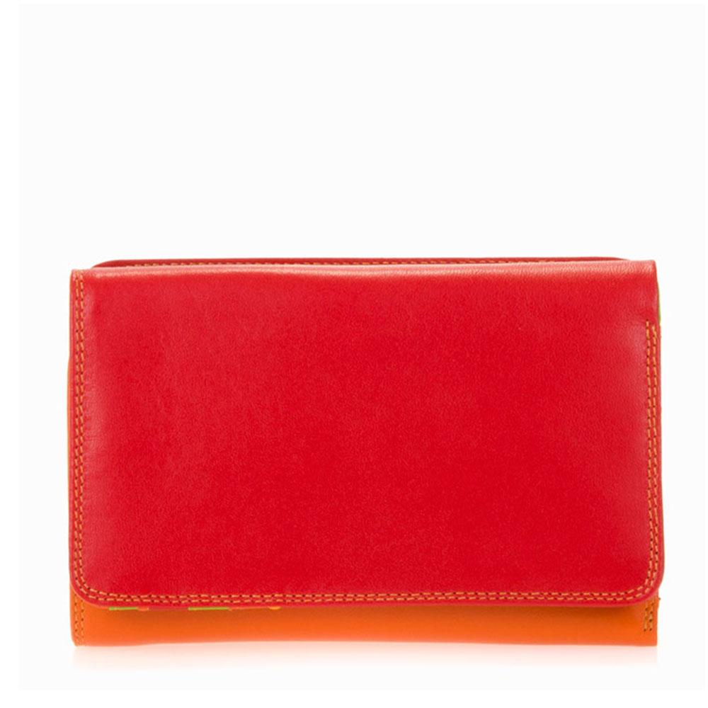 Mywalit Medium Tri-Fold Wallet Outer Zip Portemonnee Jamaica