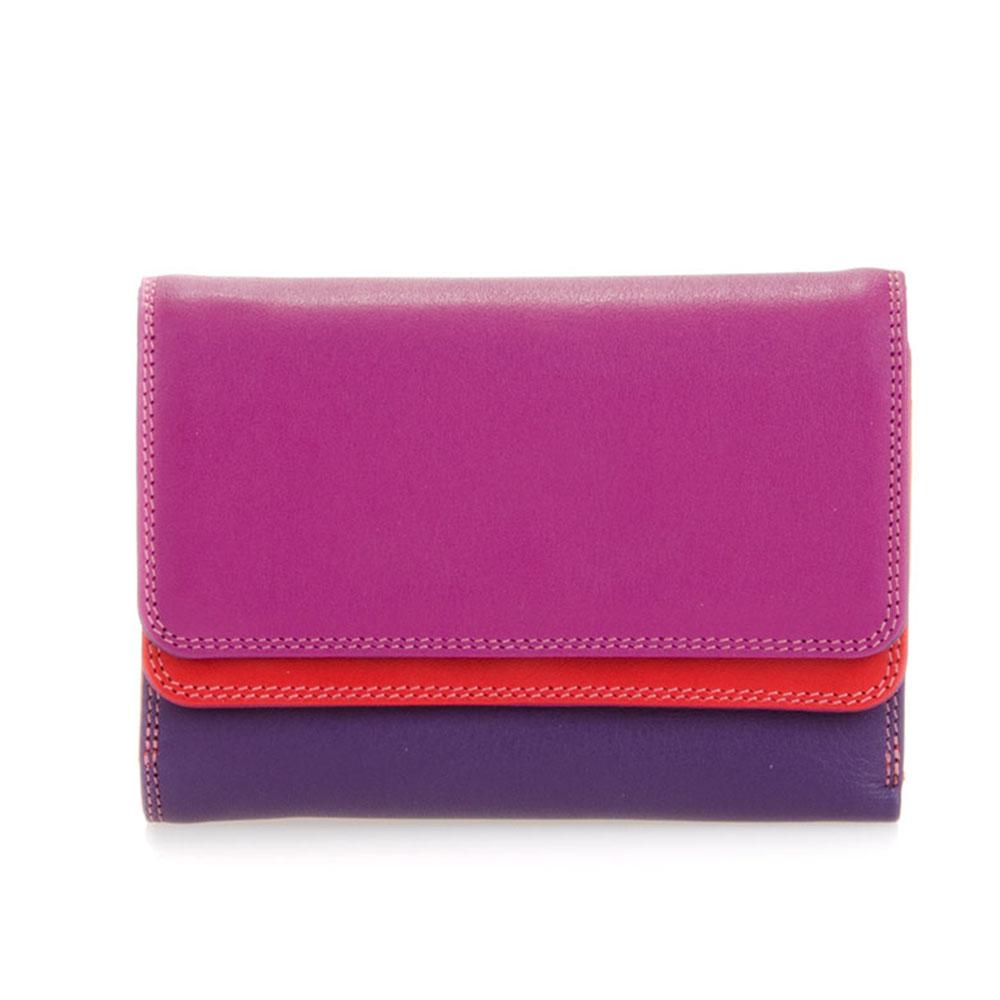 Mywalit Double Flap Purse Portemonnee Sangria Multi - Dames portemonnees