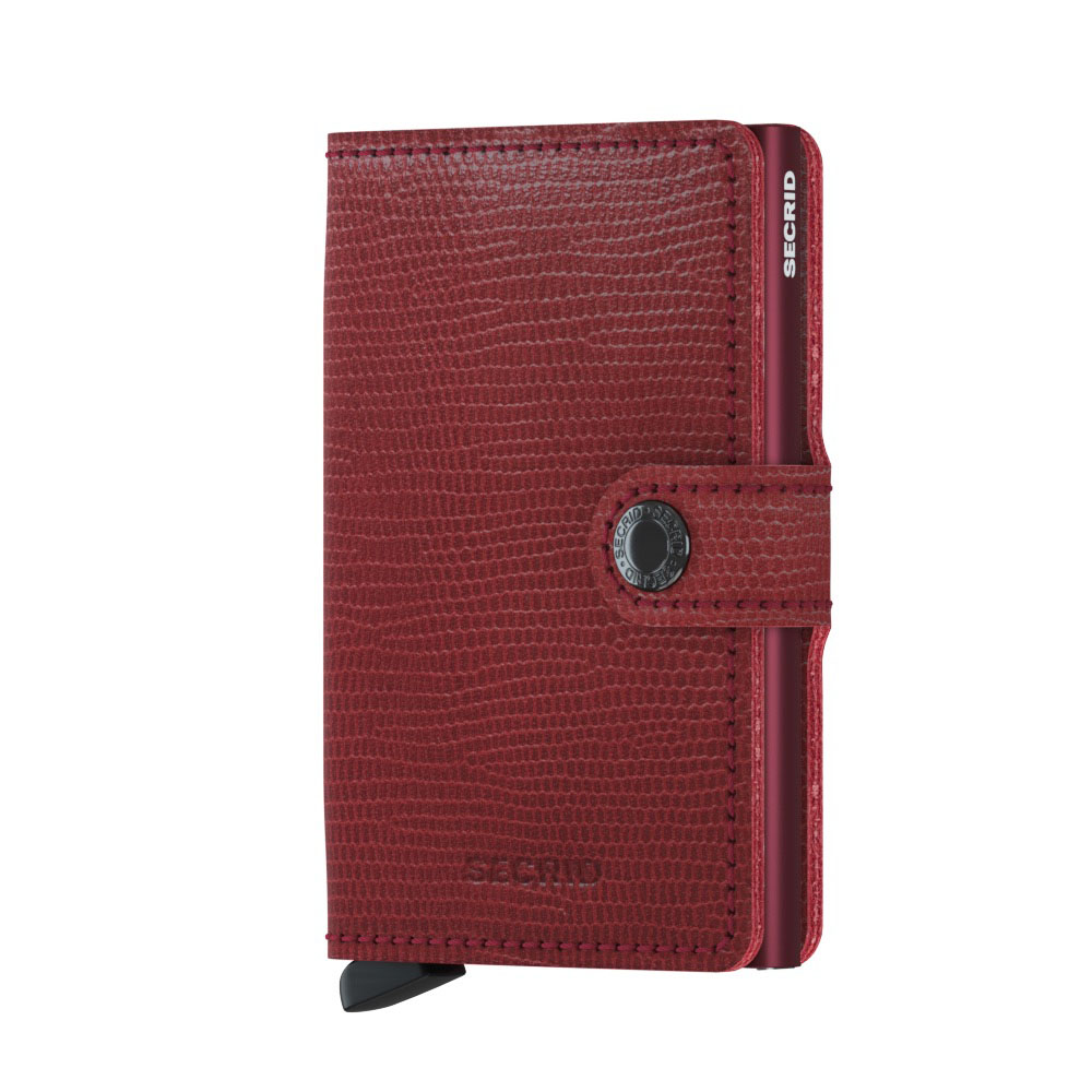 Secrid Mini Wallet Portemonnee Rango Red Bordeaux
