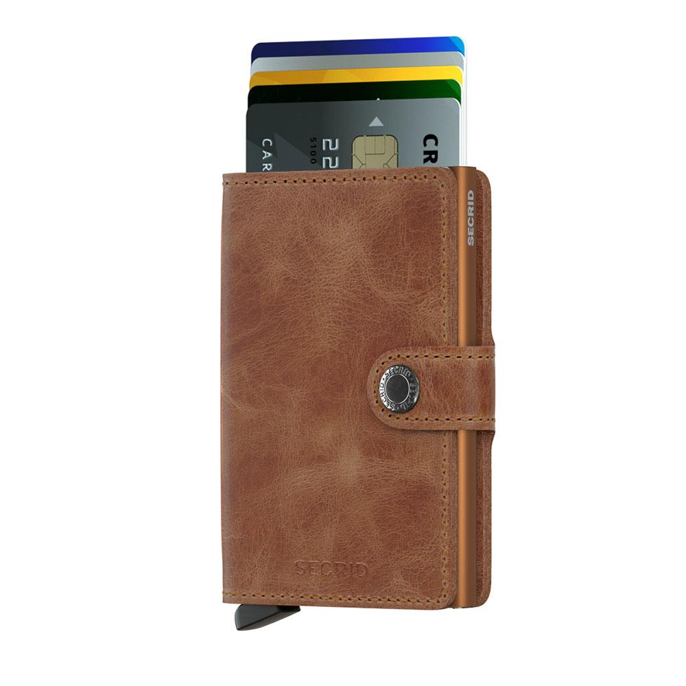 7d0e6bfdae0 Secrid Mini Wallet Portemonnee Vintage Cognac Rust