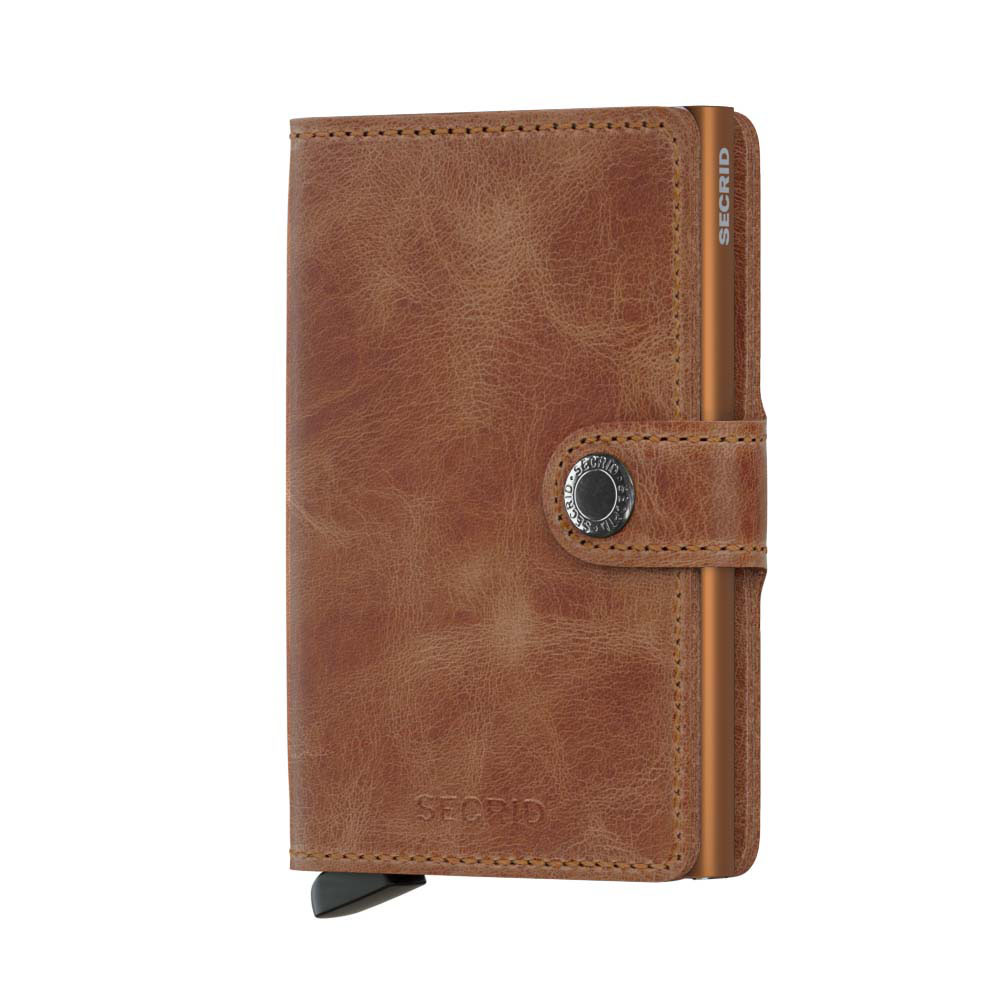9d97abce344 Secrid Mini Wallet Portemonnee Vintage Cognac Rust