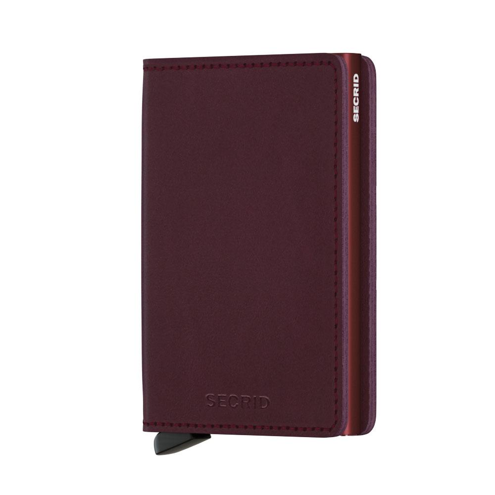 46490db112a Secrid Slim Wallet Portemonnee Original Bordeaux