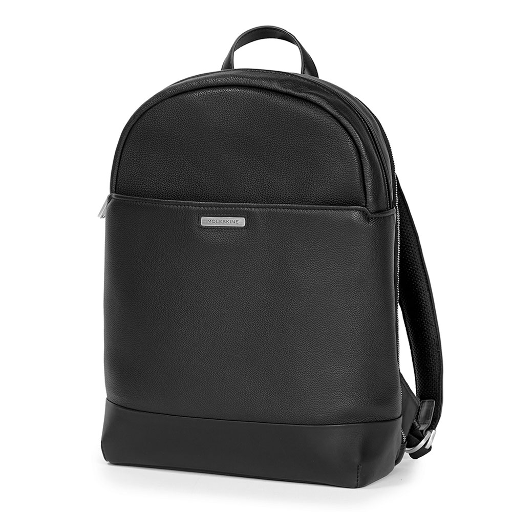 Moleskine Classic Match Leather Round Top Backpack