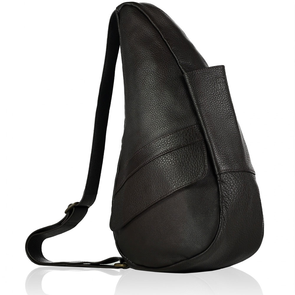 The Healthy Back Bag Leather S Coffee Bean Brown