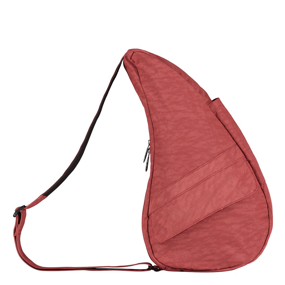 The Healthy Back Bag The Classic Collection Textured Nylon S Redwood