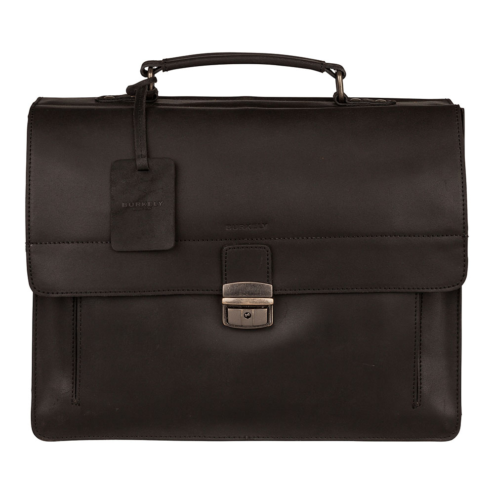 Burkely Vintage Scott Briefcase Black