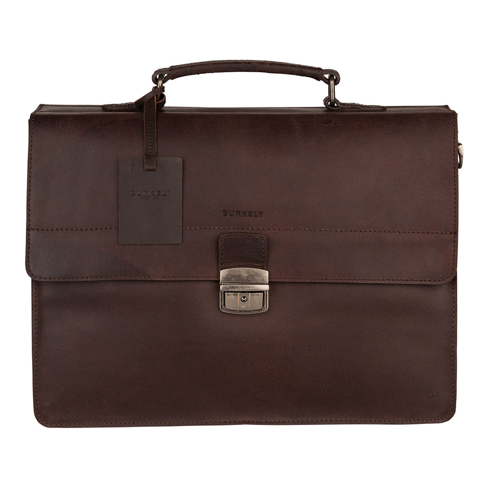 Burkely Vintage Dean Briefcase 3-Vaks Brown