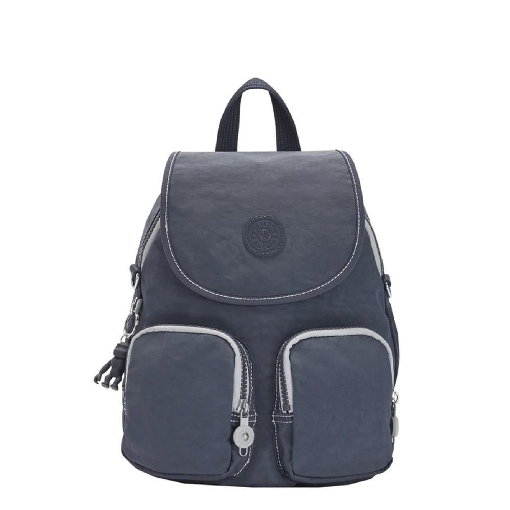 Kipling Firefly Up Backpack Grey Slate