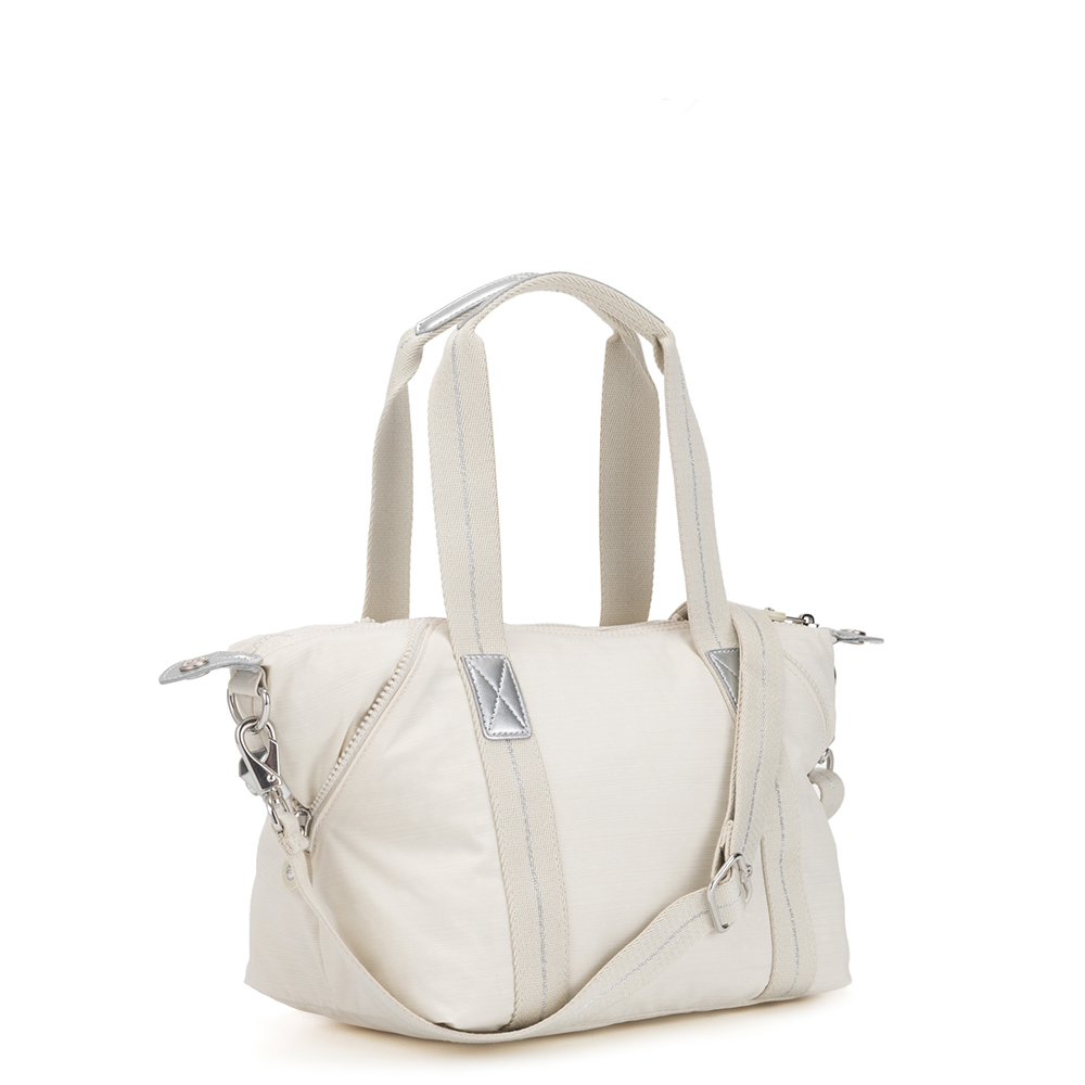 Kipling Art Mini Handtas Dazz White
