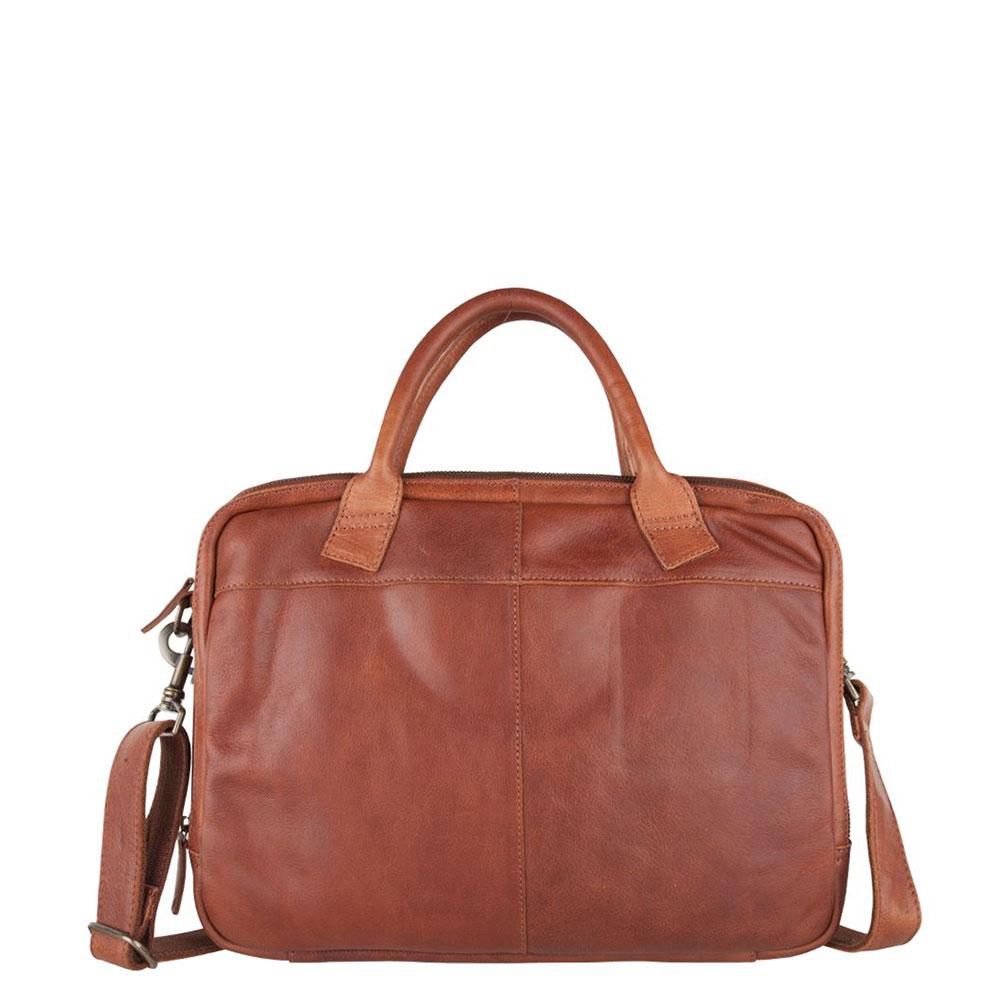 Cowboysbag Laptop Bag Fairbanks Schoudertas 15 Cognac