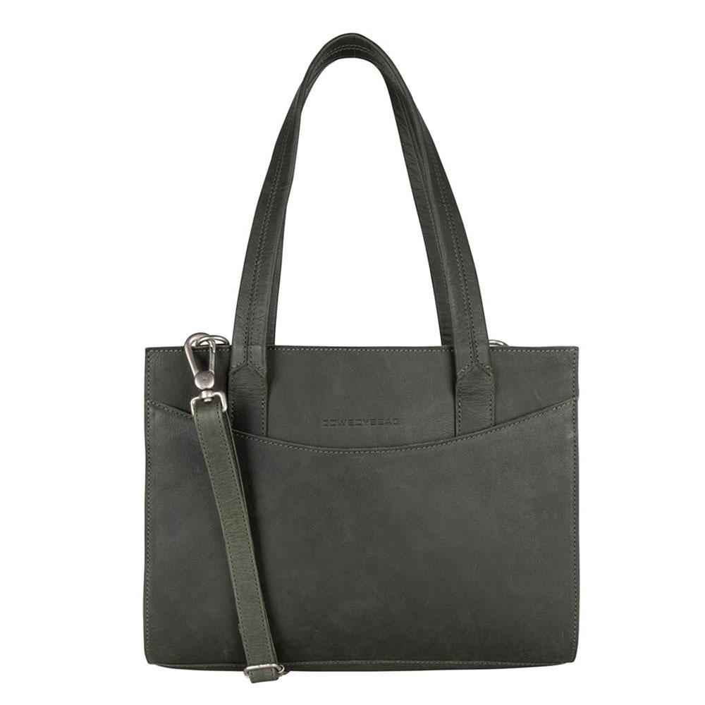 Cowboysbag Clean Laptop Bag Lismore 13 Dark Green