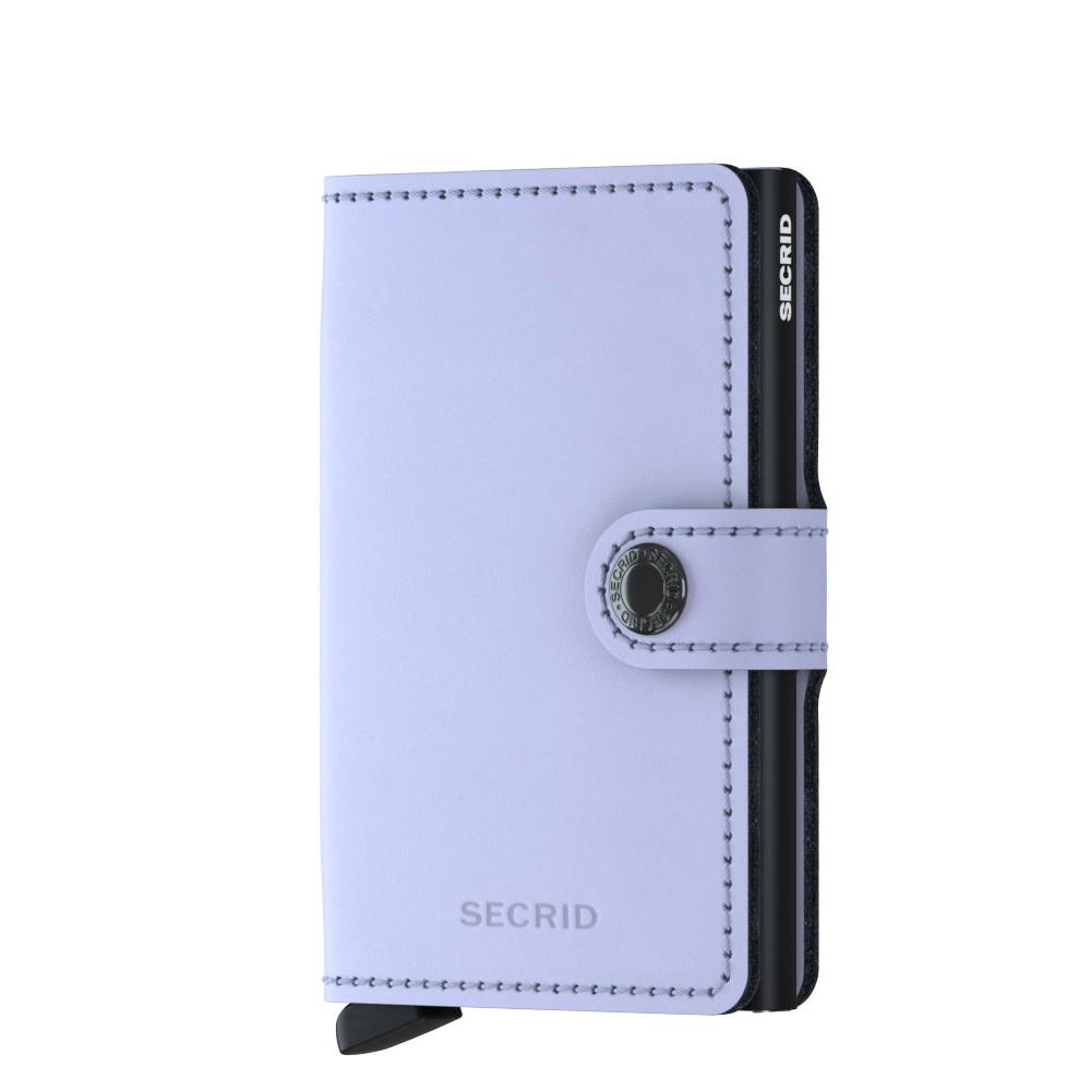498865d2aa1 Secrid Mini Wallet Portemonnee Matte Lilac Black