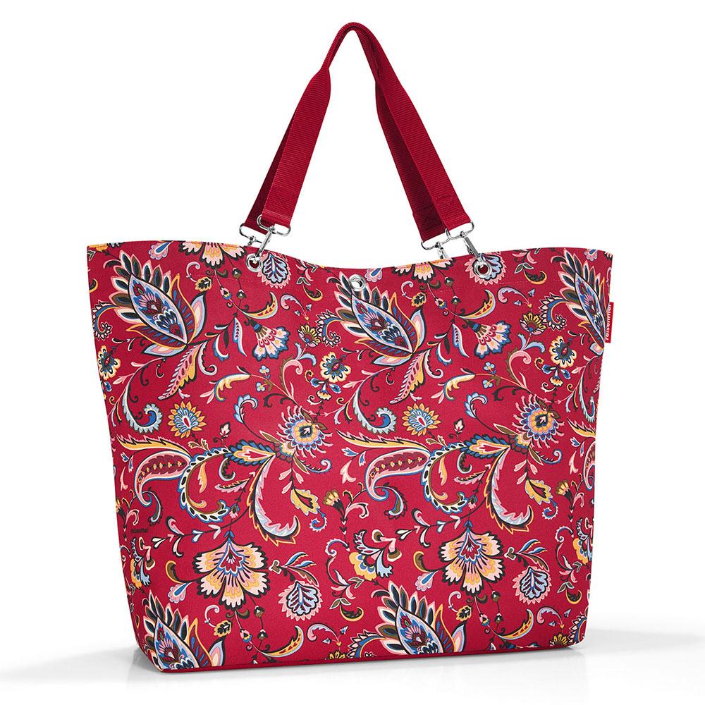 Reisenthel Shopper XL - Strandtas Paisley Ruby