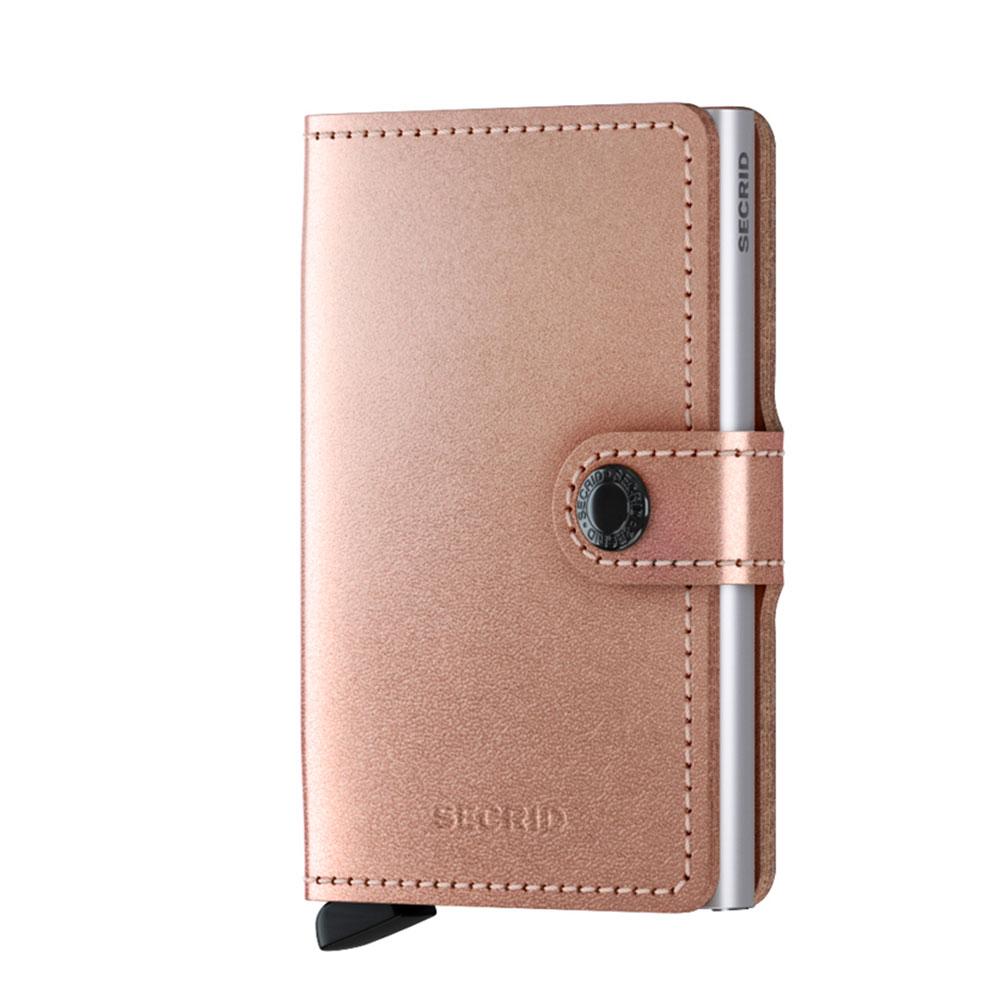 Secrid Mini Wallet Portemonnee Metallic Rose