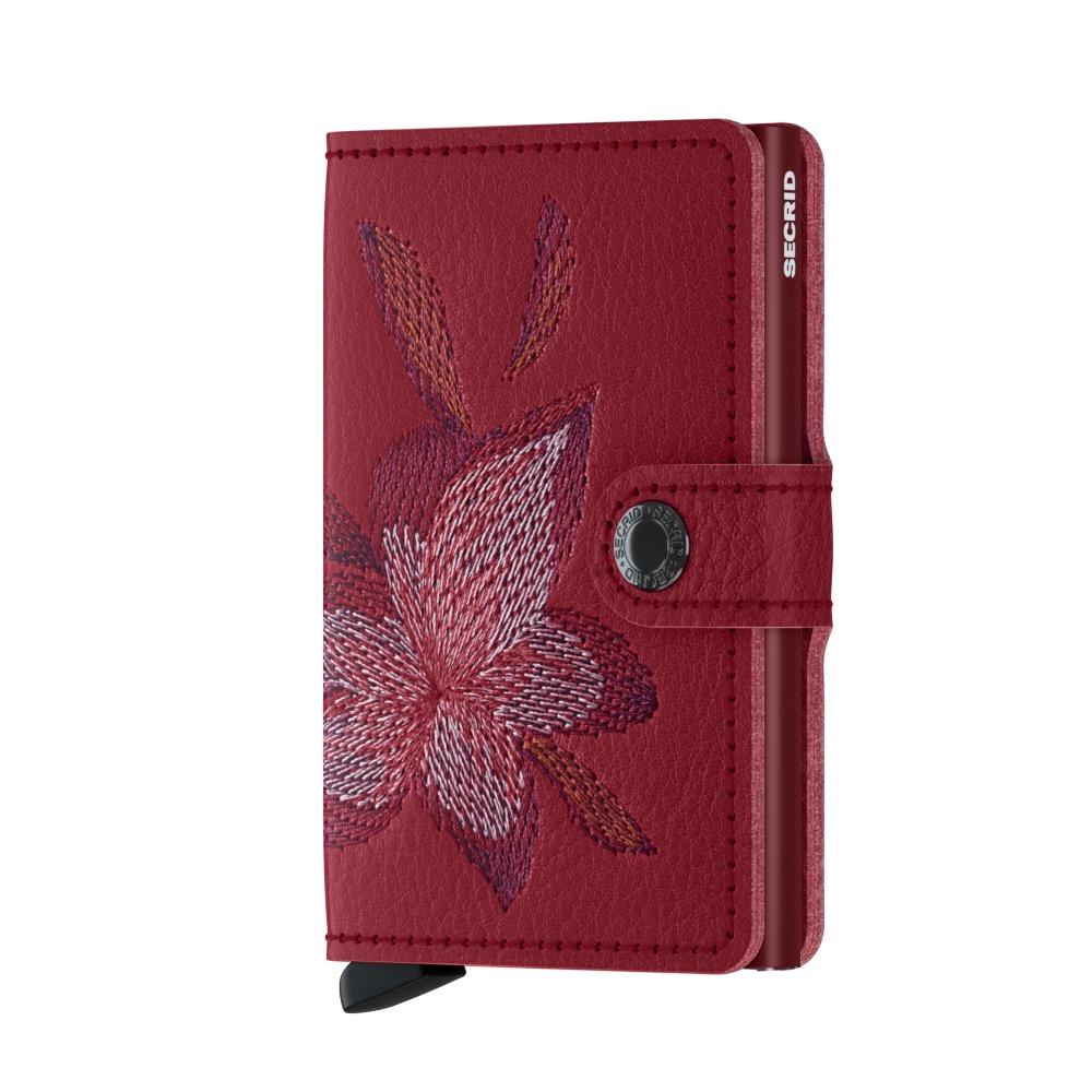 db794551c77 Secrid Mini Wallet Portemonnee Stitch Magnolia Rosso