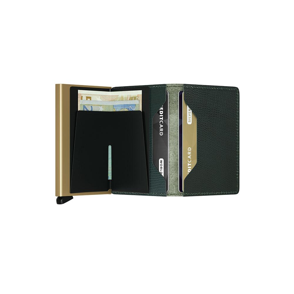 7cb29a06cb9 Secrid Slim Wallet Portemonnee Rango Green Gold