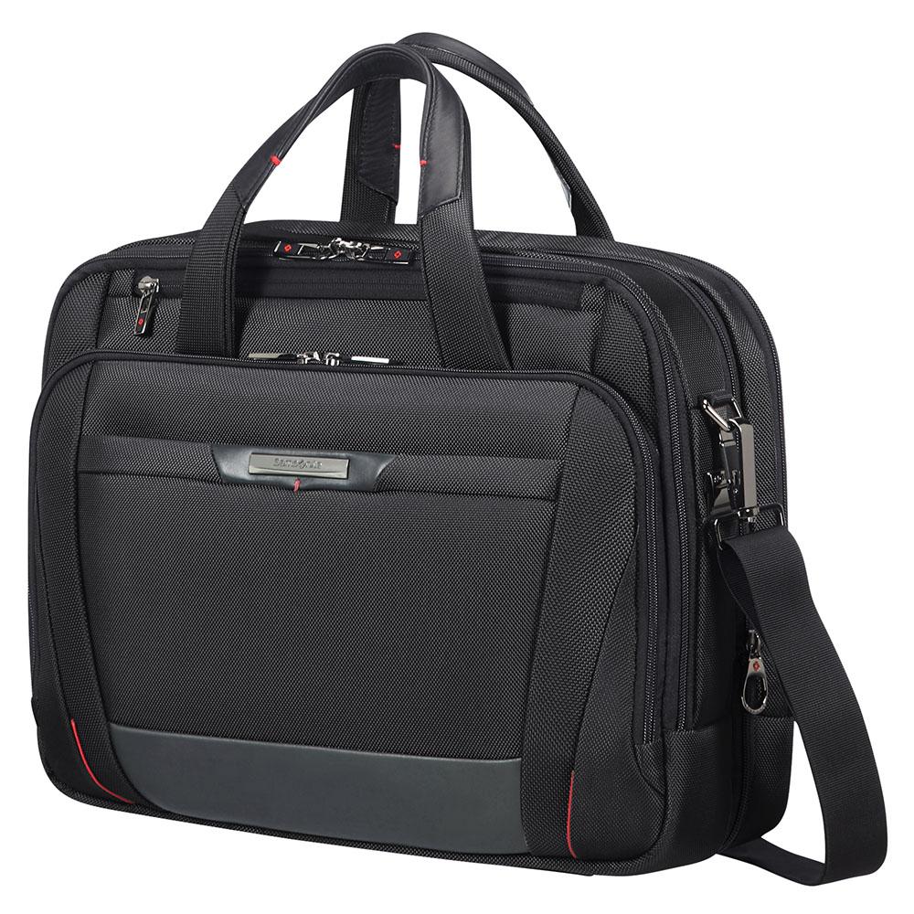Samsonite Pro-DLX 5 Laptop Bailhandle 15.6 Expandable Black