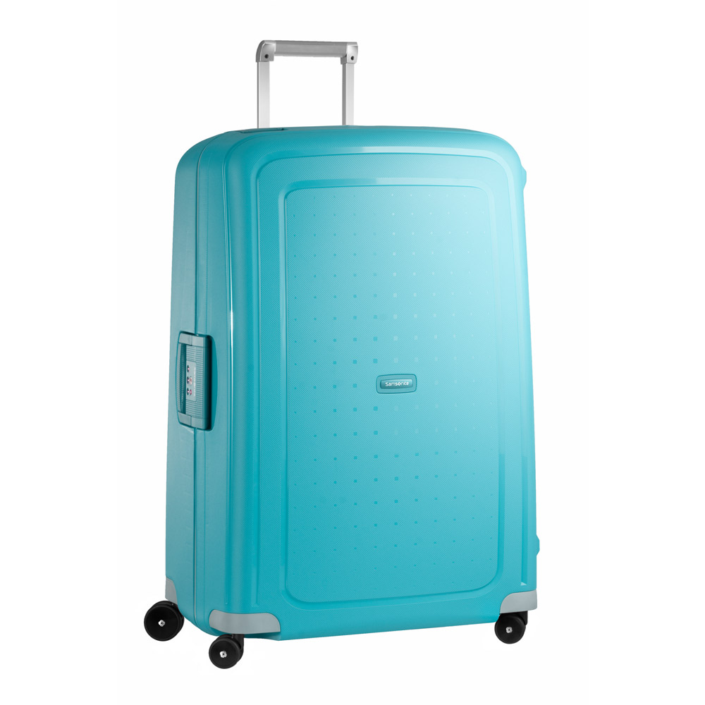 8285d0116e1 Samsonite S'Cure Spinner 81 Aqua Blue