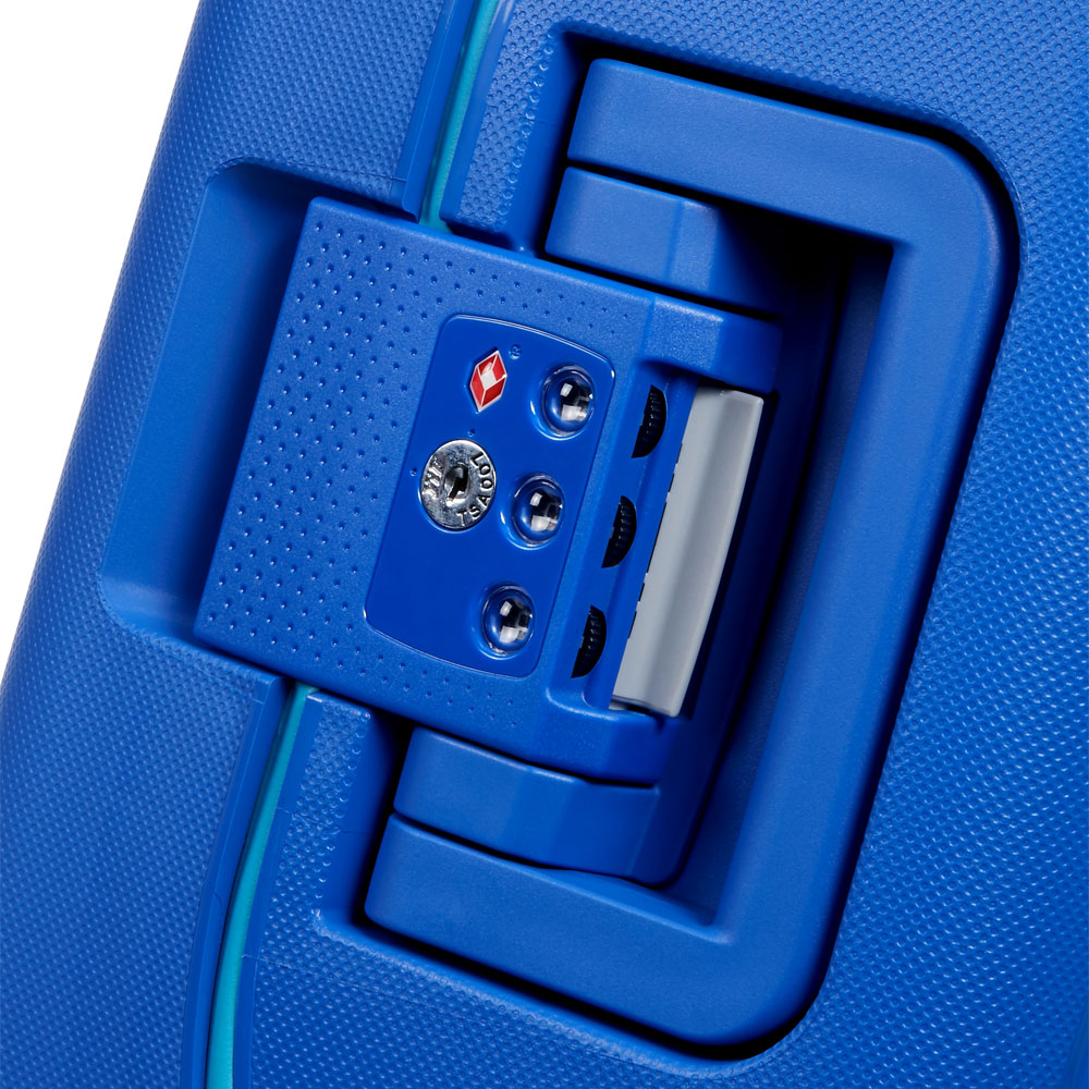 American Tourister Lock N Roll Spinner 55 Skydiver Blue