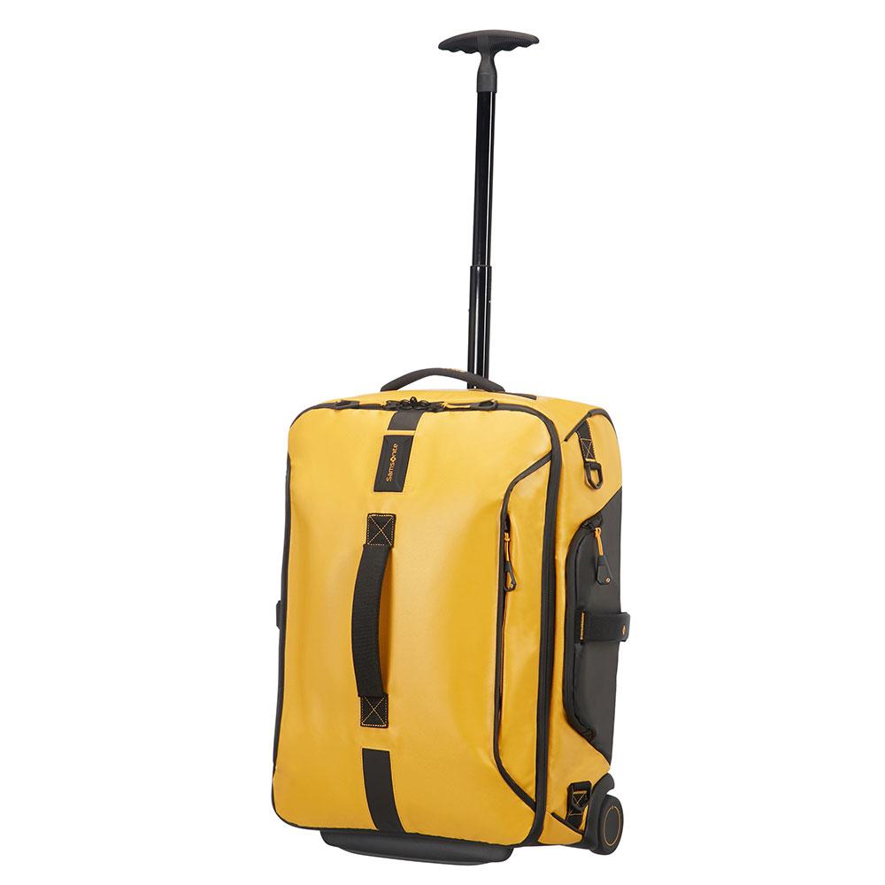 Samsonite Paradiver Light Duffle Wheels 55 Backpack Yellow