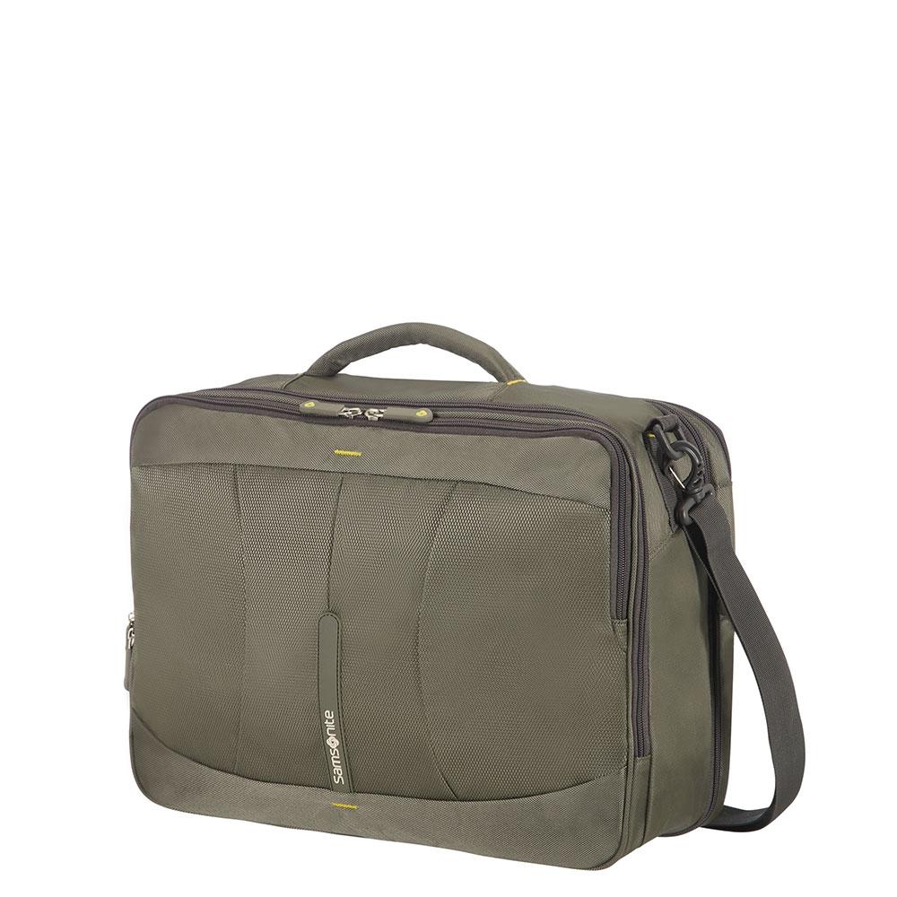 8e99fe69625 Samsonite 4Mation 3-Way Shoulder Bag Expandable Olive/Yellow