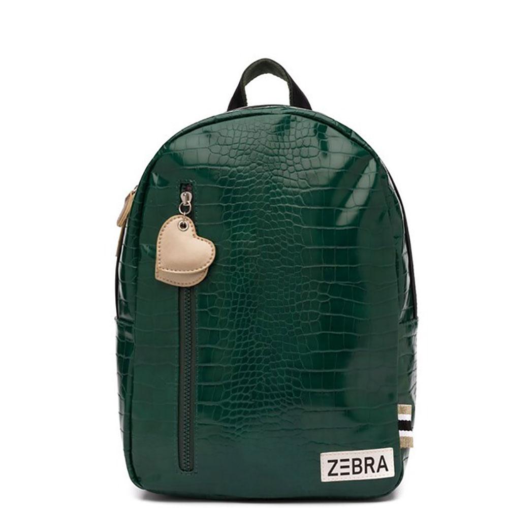 Zebra Trends Kinder Rugzak M Croco Green