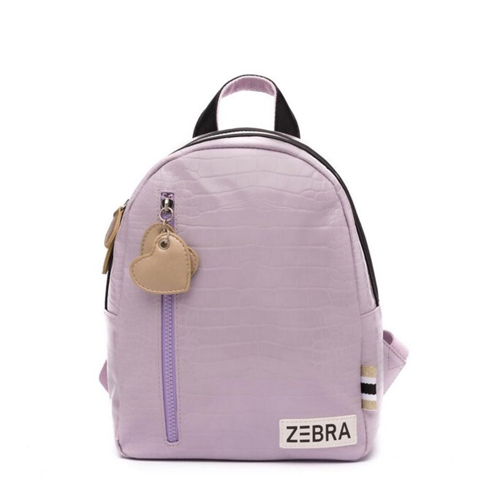 Zebra Trends Kinder Rugzak S Croco Purple