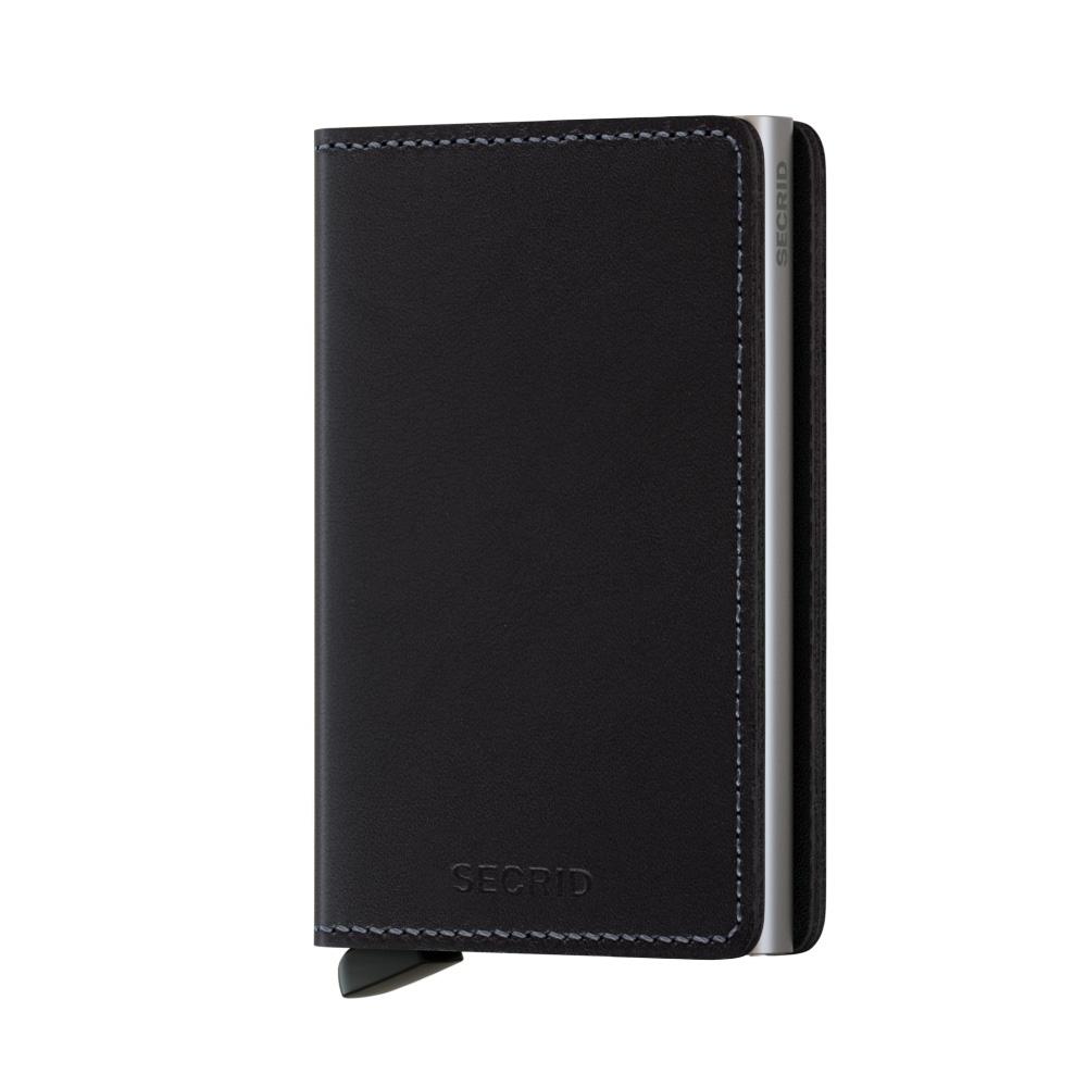 Secrid Slim Wallet Portemonnee Original Black