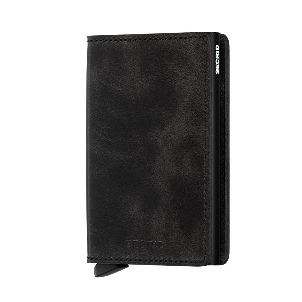 92329648f54 Secrid Slim Wallet Portemonnee Vintage Black
