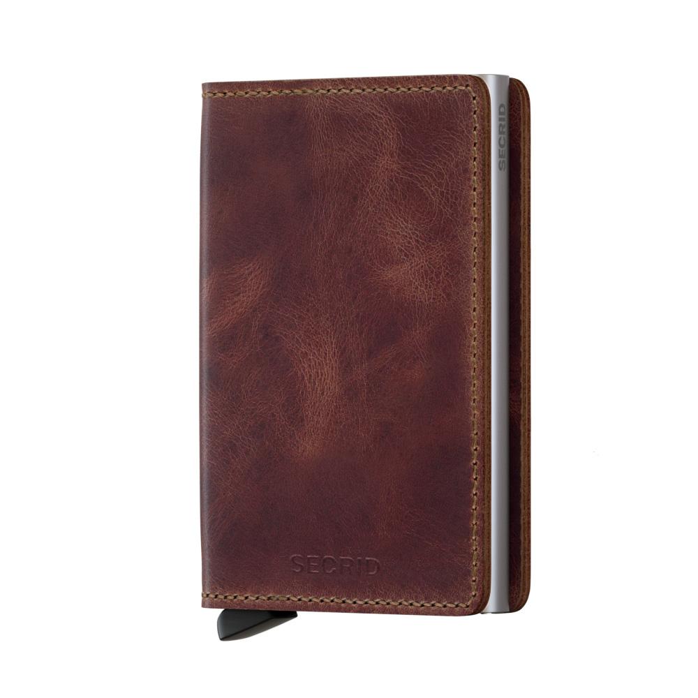 Secrid Slim Wallet Portemonnee Vintage Brown