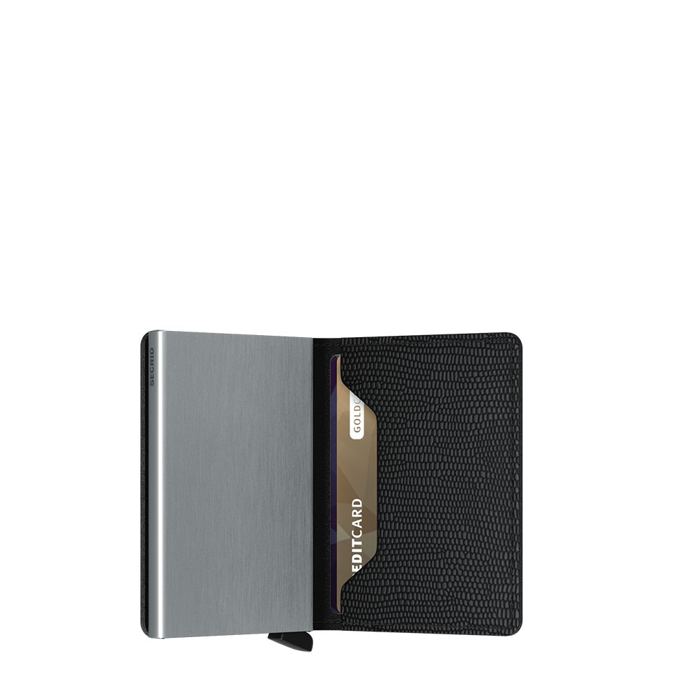 Secrid Slim Wallet Portemonnee Rango Black
